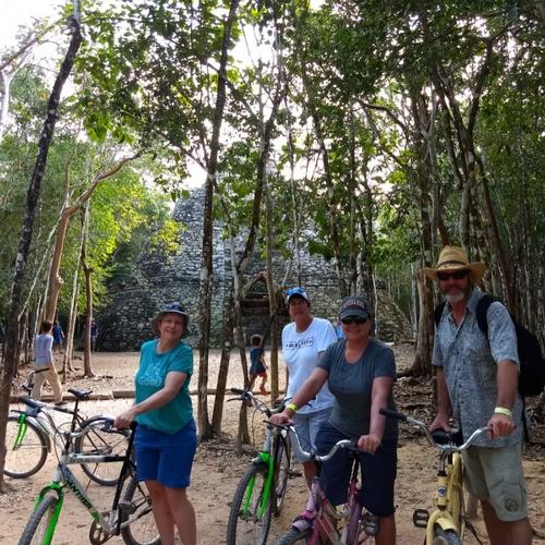 Bikes or Mayan Taxi in Coba