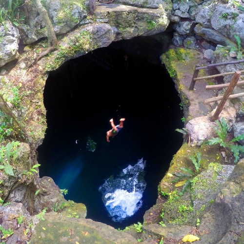 Jump in a Beautiful Cenote