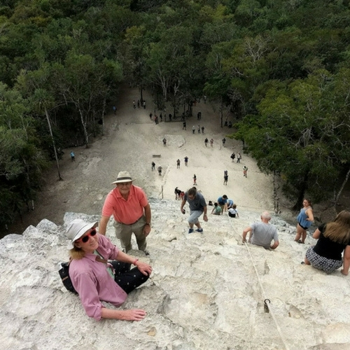 Climb the Tallest Pyramid in Quintana Roo