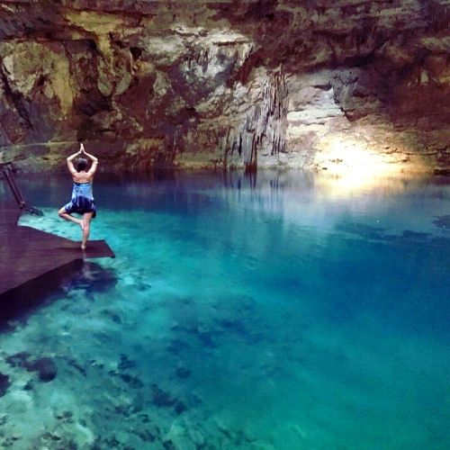 Crystal water cenote