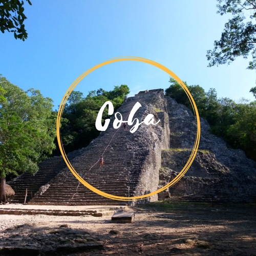 Climb the Tallest Pyramid of Quintana Roo!