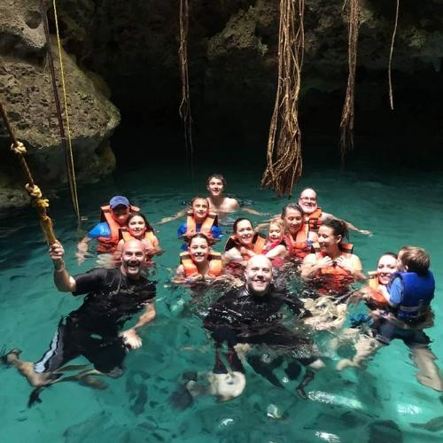 Fun in Cenote
