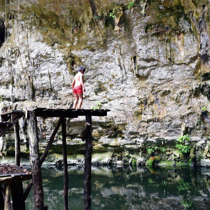 Cenote Jumping